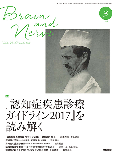 BRAIN and NERVE Vol.70 No.3
