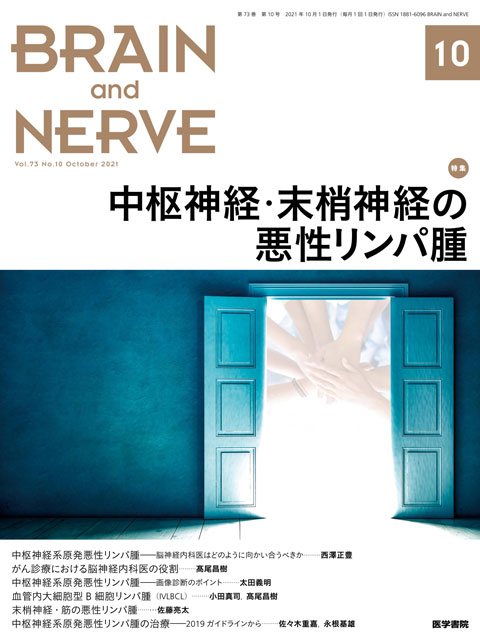 BRAIN and NERVE Vol.73 No.10