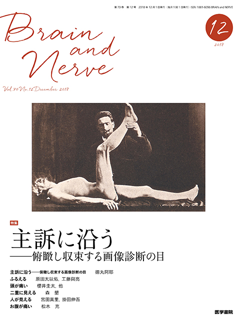 BRAIN and NERVE Vol.70 No.12