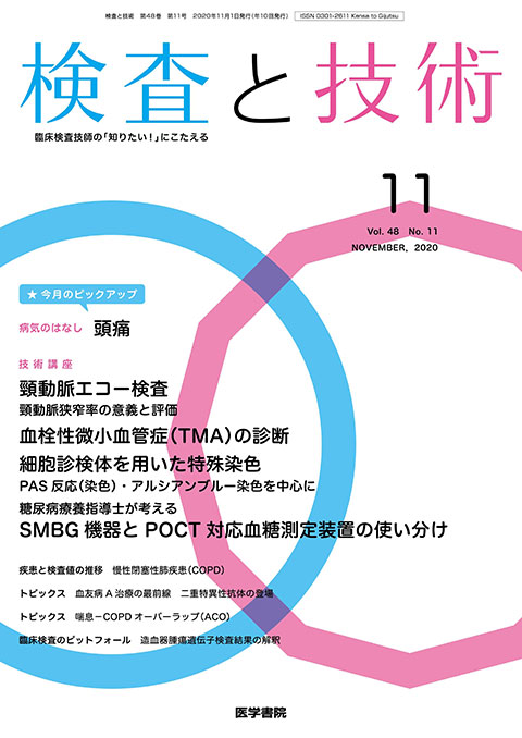 検査と技術 Vol.48 No.11